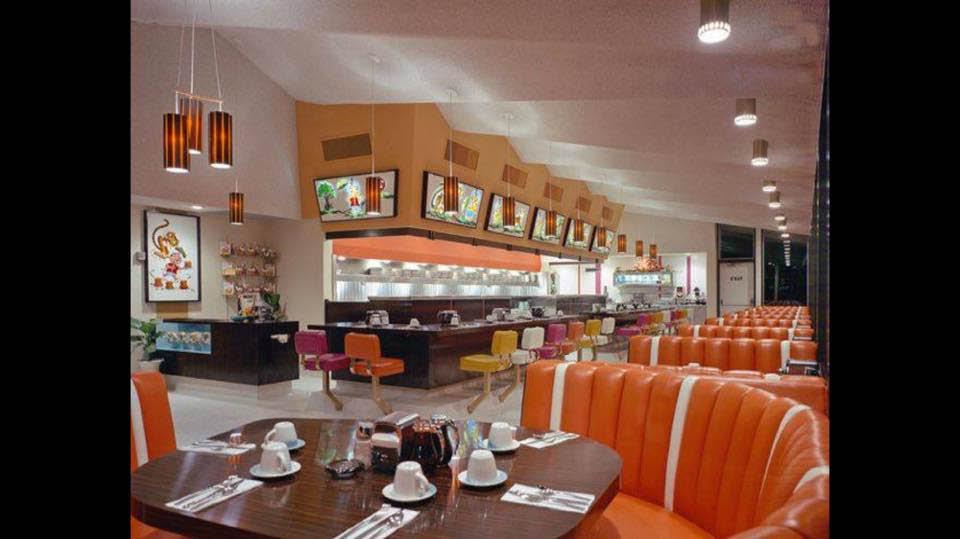 Inside Cattin's Family Dining - Hermann's Diner - Puyallup restaurants - family dining in Puyallup, WA