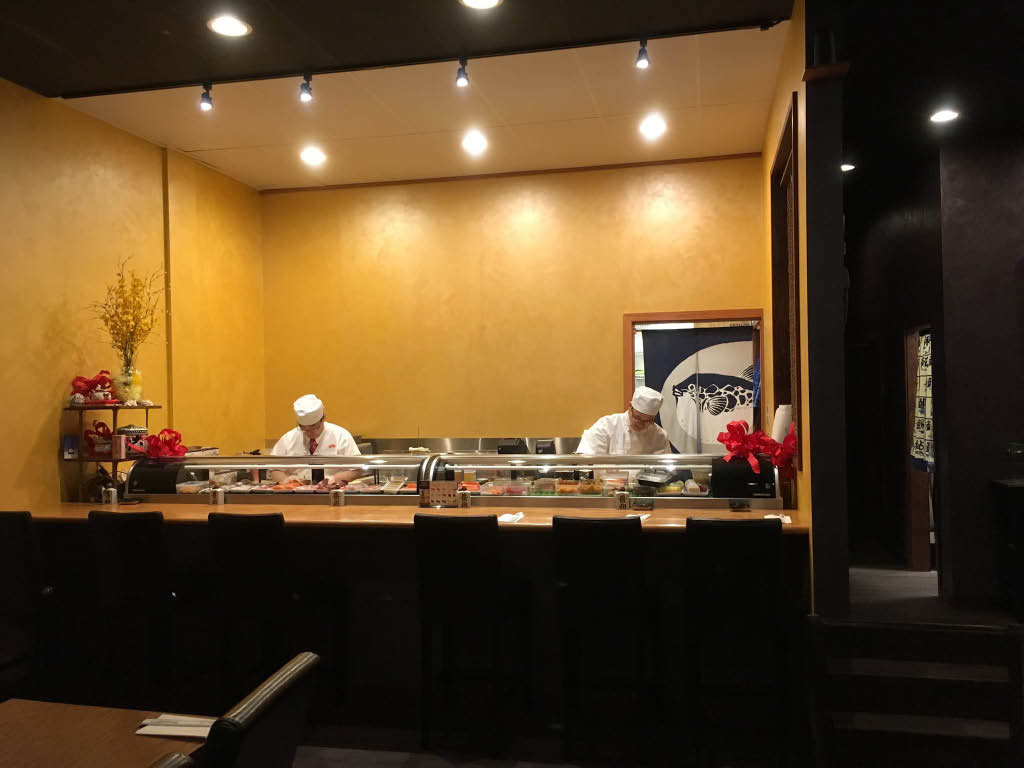 Inside Fatty Fish Sushi Restaurant in Everett, WA - sushi near me - sushi coupons