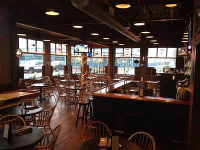 Inside Highliner Public House restaurant at Fishermen's Terminal in Seattle, WA - Seattle restaurants near me - Seattle dining coupons near me