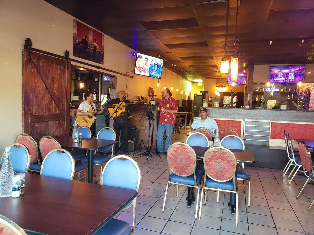 Inside La Ilucion Al Carbon Restaurant & Bar in Tacoma, Washington - live music - Tacoma Mexican restaurants near me - Mexican restaurant coupons near me - Mexican food in Tacoma, WA