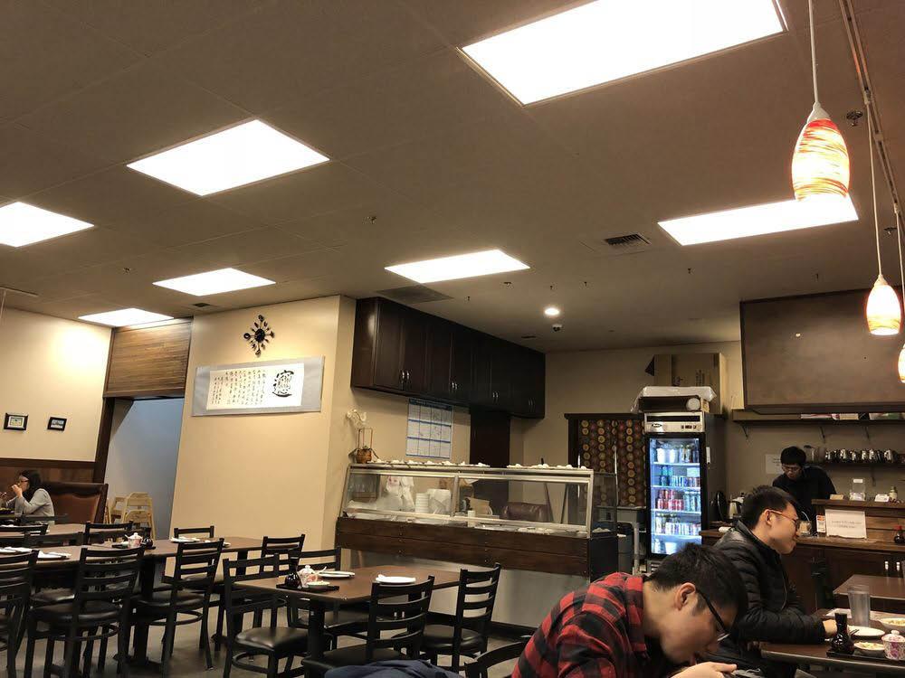 Inside Miah's Kitchen restaurant in Redmond, WA