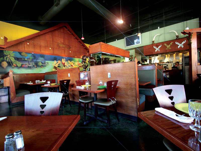 Inside Noppakao Thai restaurant in Kirkland, Washington - Kirkland's finest Thai restaurant - Thai food coupons near me