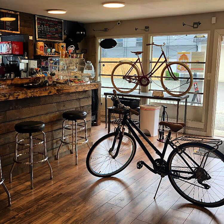 PIM Bikes & Coffee in Seattle, Washington - coffee shop - full service bicycle shop - full service bike shop - Seattle bike shops near me