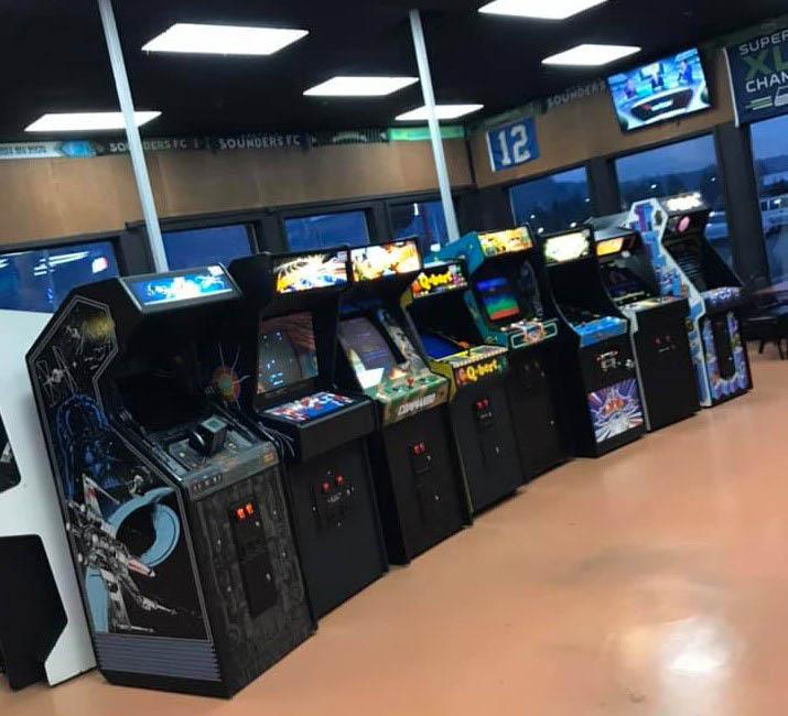 Inside Purdy's Arcade in Sumner, Washington - Sumner arcade games near me - Sumner arcades near me - entertainment in Sumner - dining in Sumner - food in Sumner