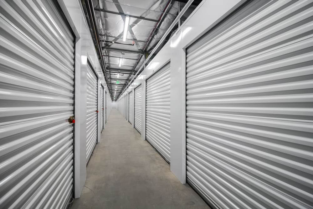 Inside storage units at Self Storage @ Tehaleh in Bonney Lake, Washington - storage in Bonney Lake - Bonney Lake storage units