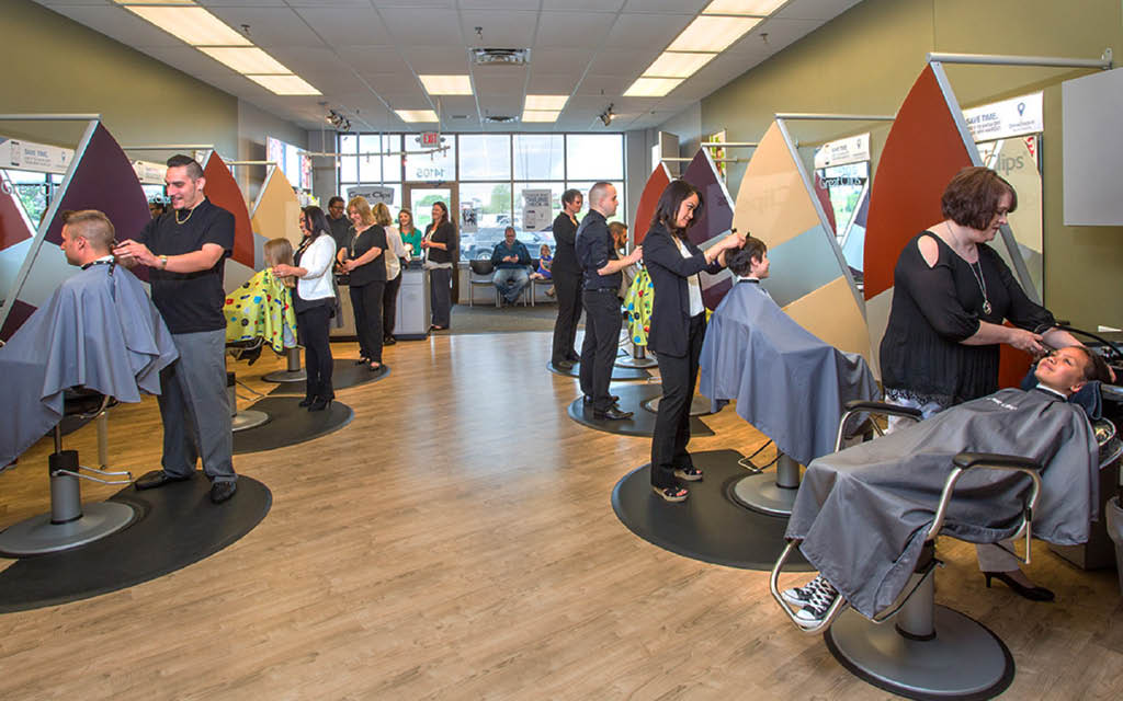 Inside a Great Clips Salon - Western Washington locations - haircut coupons near me - Great Clips Coupons near me
