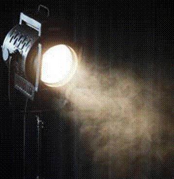 photo of theatre light at Inspire Theatre in Westland, MI