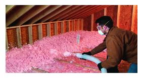Cleaning basement crawl spaces and adding insulation