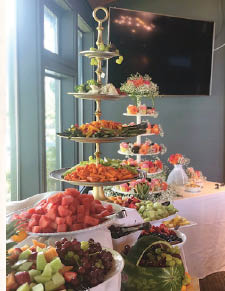 Let us cater your next event or party - Island Lodge by Al Lago - Lake Tapps, WA - Tapps Island golf course clubhouse - catering near me