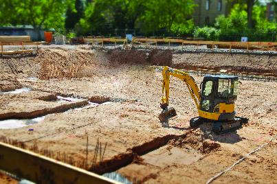 Islandwide Excavation & Services rents mini excavators
