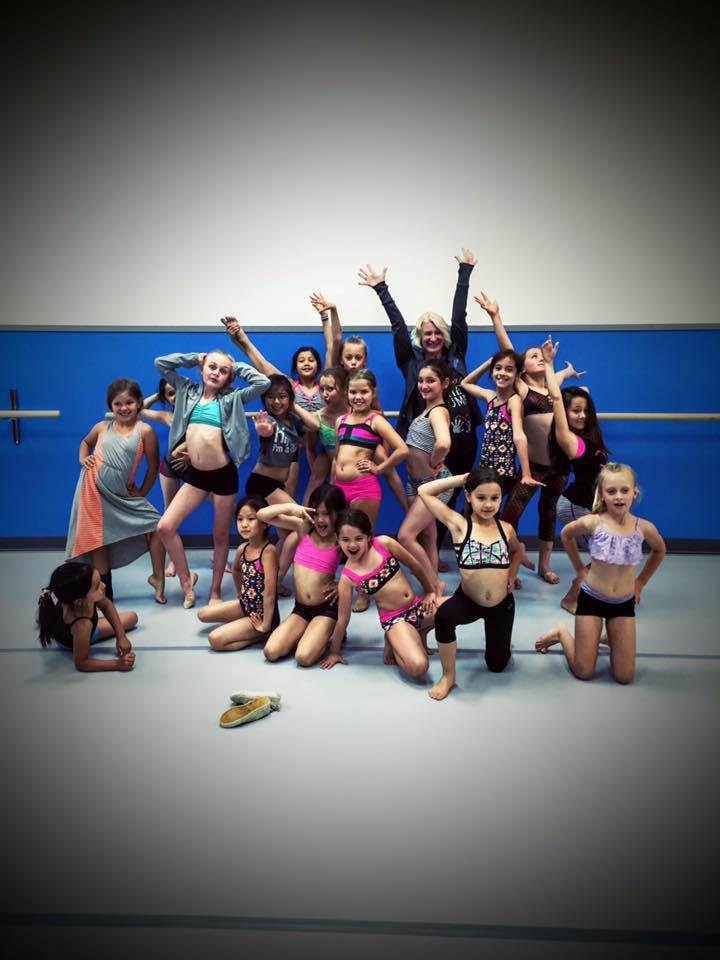 Dance team from Revolution Dance Factory in Issaquah, WA - dance school - dance studio