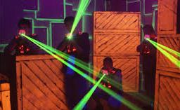 Play laser tag near King of Prussia