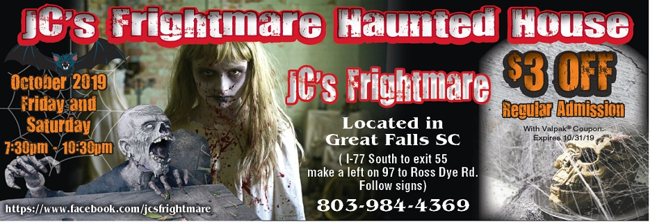 Haunted house near me Save on haunted house tickets JC Frightmare