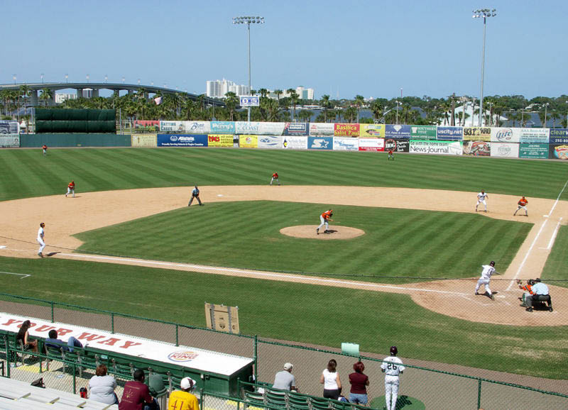 Radiology Associates Field at Jackie Robinson Ballpark Daytona Beach