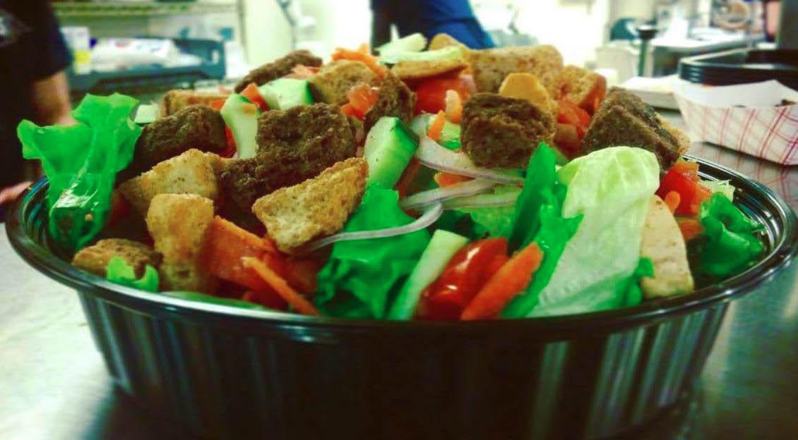 salad, chicken, lunch, dinner, late night