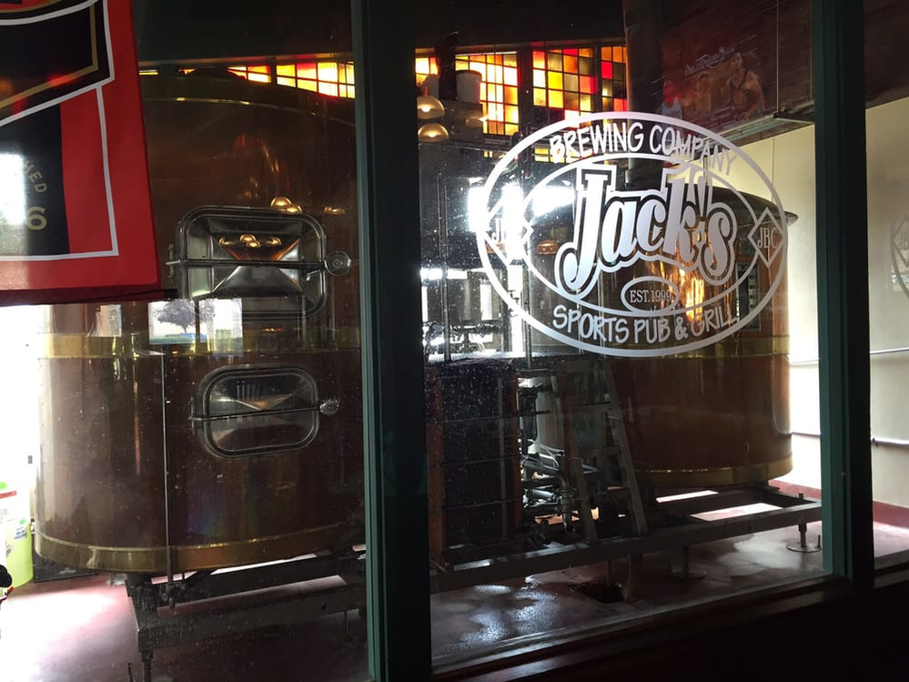 Jack's Brewing Company in Fremont, CA beer tanks image