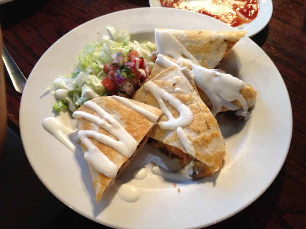 Jack's Brewing Company in Fremont, CA plate of quesadillas
