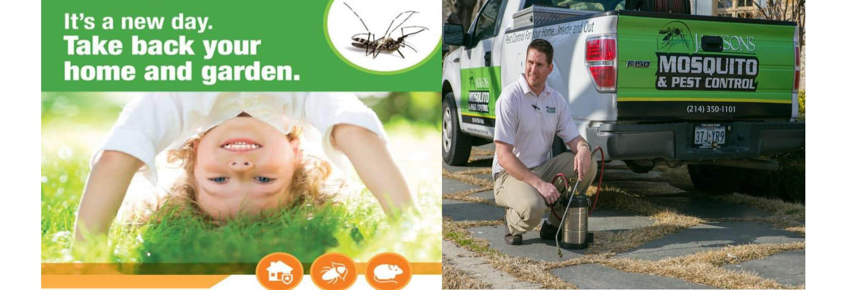 ... Jacksons Mosquito Pest Control Dallas Tx Banner ...