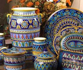Large selection of gorgeous pottery