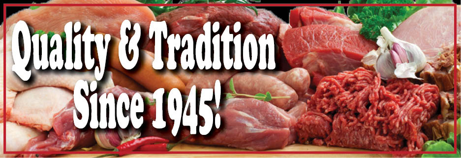 Beef, Lamb, Pork, Poultry, Cheese, Pizza, Pot Pies, Butcher
