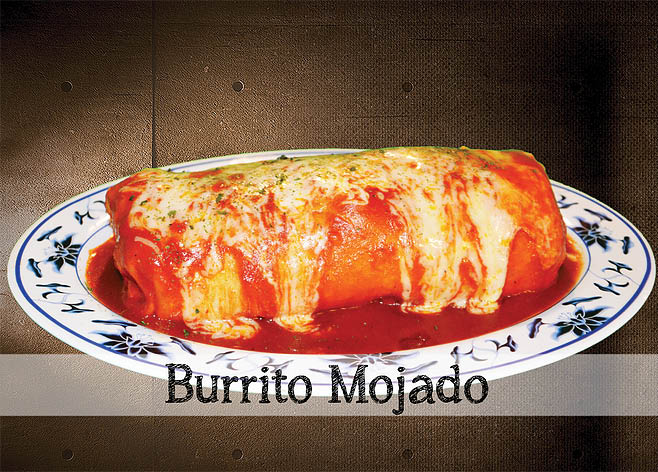 Delicious Burrito Mojado near Benicia, CA