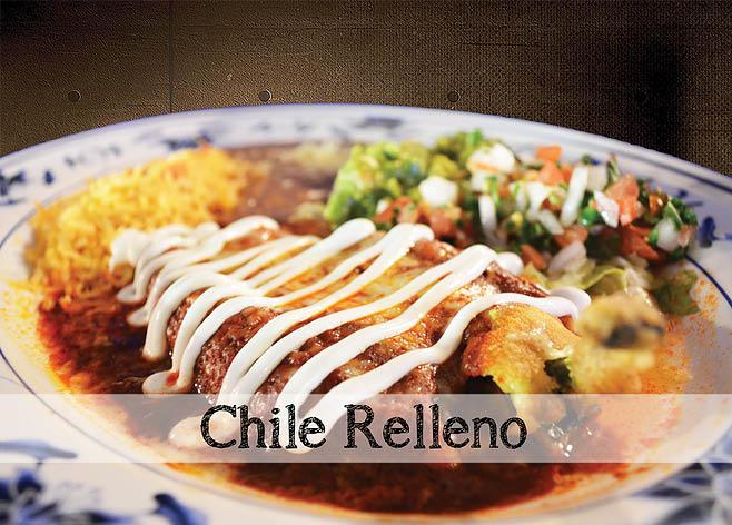 Enjoy delicious Chile Relleno dish in Vallejo, CA