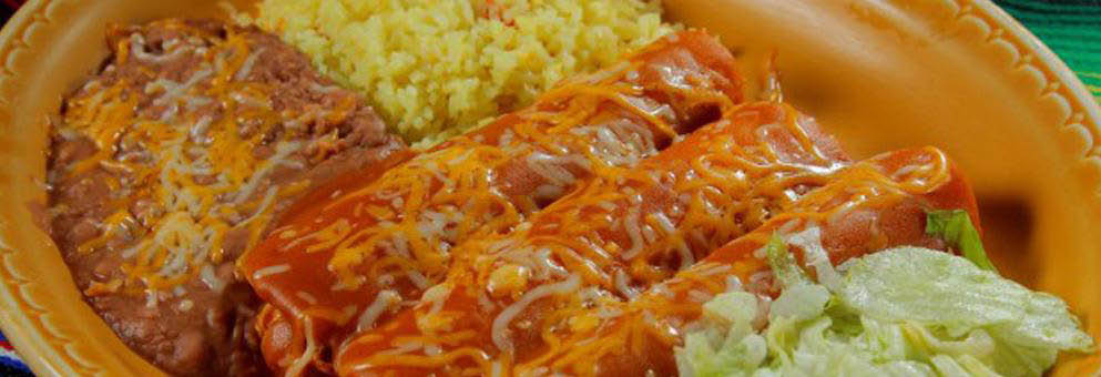 Javier's Chili Rellenos with Rice & Beans