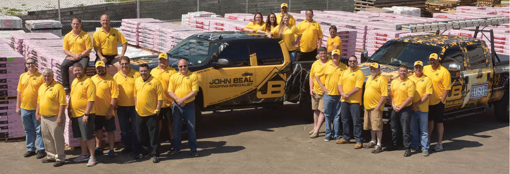 John Beal Roofing in St. Ann, MO Banner ad
