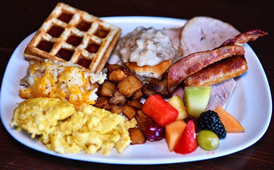 Jerry's Old Town Inn Breakfast Plate Germantown WI