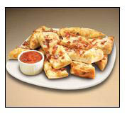 Jet's has a variety of cheese breads with toppings that are a must-try with an order of spicy wings