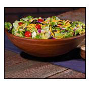 Jet's Pizza has cold, crispy green salads like our Greek or Chef