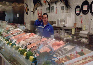 Our Fresh Seafood section in Woodbury, NY