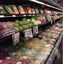 Fresh produce at Victoria's Market in Woodbury, NY