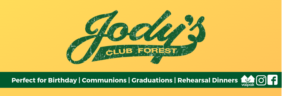 Jodys,bar,tavern,pub,forest ave, jodys club forest,holiday party,private party room,club,buffet