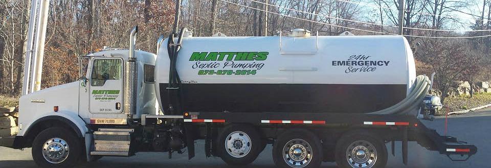 John Matthes Septic Pumping in Wharton NJ