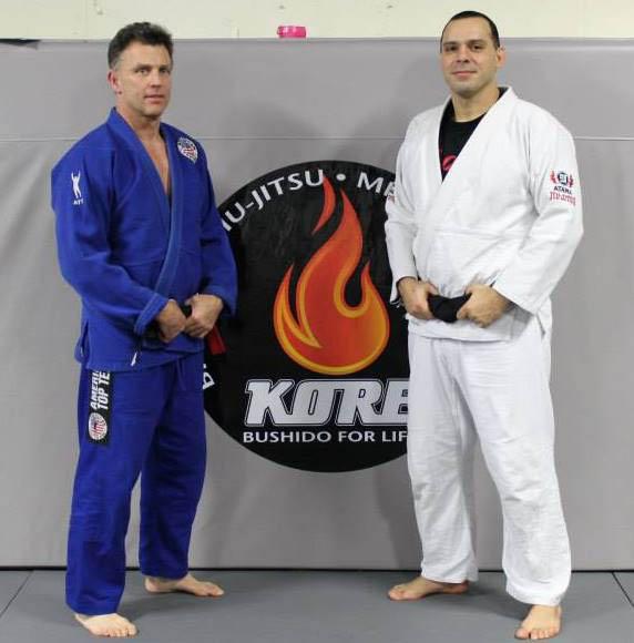 Black belt karate teachers and jiu-jitsu teachers at USA Karate studio