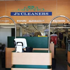 dry cleaning services for men's shirts and jackets