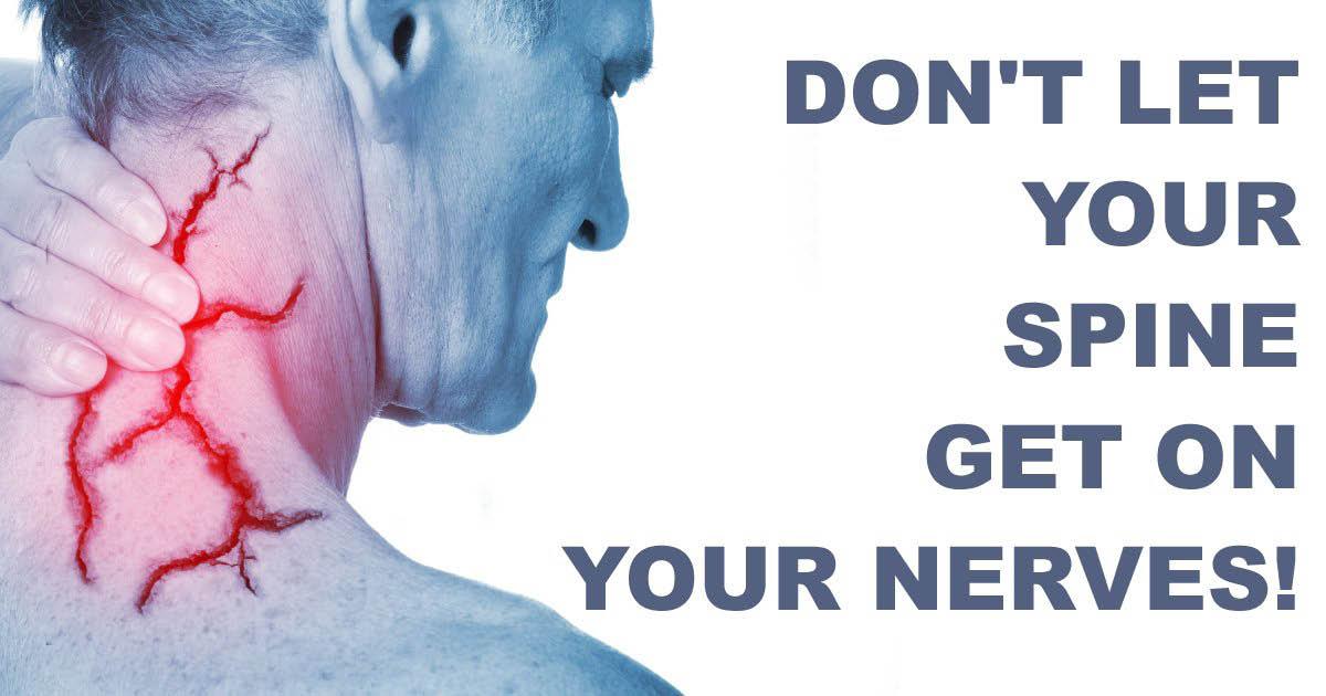 spine adjustment, pain, nerve pain, neck pain