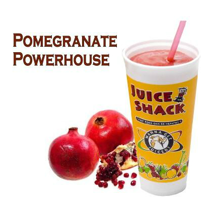 Try our Pomegranate Powerhouse smoothie if you're in Cotati, CA.