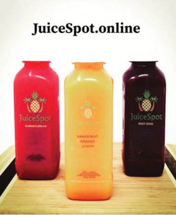 Healthful and tasty fruit juices