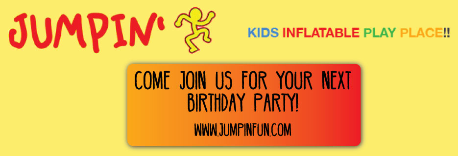 JUMPIN' Kids Inflatable Play Place