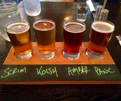 Get flights of craft beer near Napa, CA