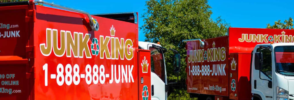 Junk-King.  Trash removal.