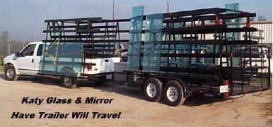 Katy Glass & Mirror delivers glass doors and mirrors to your home