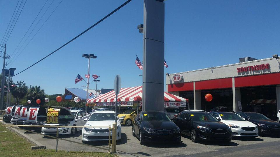 SOUTHSIDE KIA IN JACKSONVILLE FRONT OF STORE PHOTO
