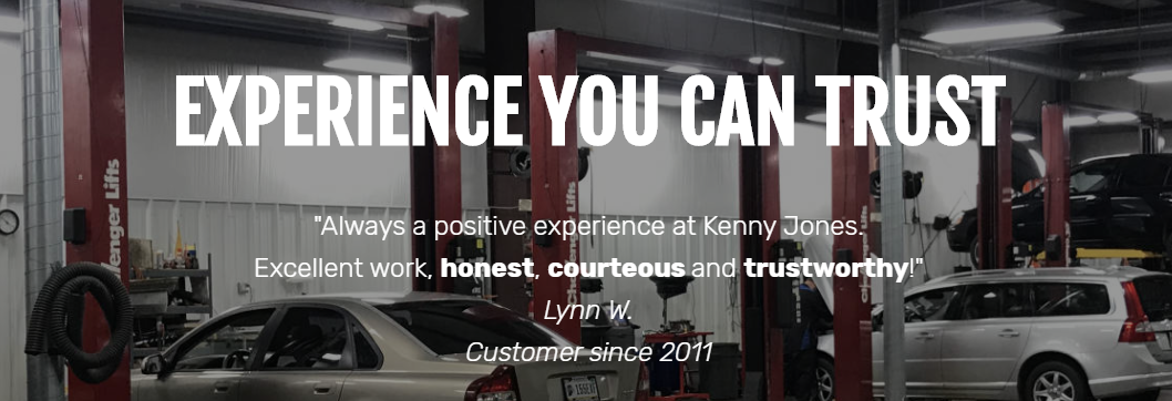 Experience you can trust!