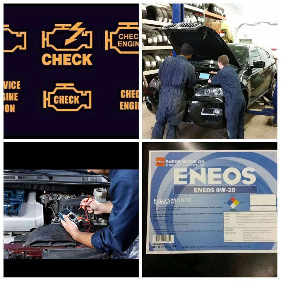 Car repair analysis systems at Kud Audo Parts in Naperville