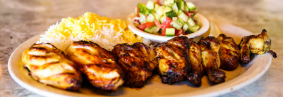 Kababbq Grill & Cafe in San Rafael, CA Banner ad