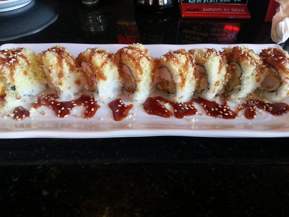 Try sushi rolls at Kampai Japanese restaurant Los Alamitos, CA