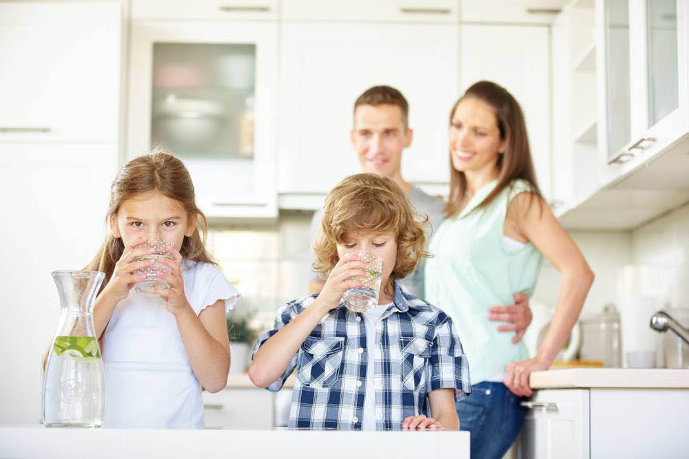 Healthy drinking water for the entire family